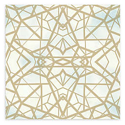 RoomMates® Shatter Geometric Peel and Stick Wallpaper in Gold/Sky