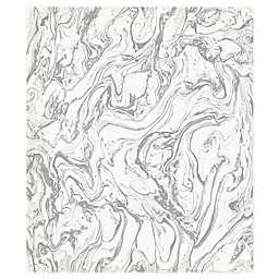 RoomMates® Marble Peel & Stick Wallpaper in Grey