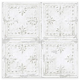 RoomMates® Tin Tile Peel & Stick Wallpaper