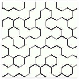 RoomMates® Open Geometric Peel & Stick Wallpaper in Grey