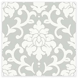 RoomMates® Damask Peel & Stick Wallpaper in Grey