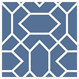 RoomMates® Modern Geometric Peel & Stick Wallpaper in Blue