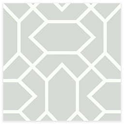 RoomMates® Modern Geometric Peel & Stick Wallpaper in Slate Grey