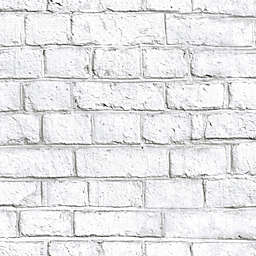 RoomMates® Whitewash Brick Peel & Stick Wallpaper