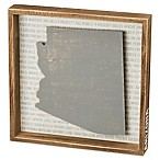 Primitives by Kathy® 12-Inch x 10-Inch Arizona Wood Wall Art