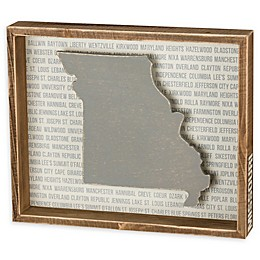 Primitives by Kathy® 12-Inch x 10-Inch Missouri Wood Wall Art