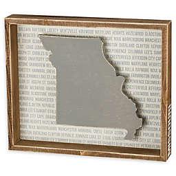 Primitives by Kathy® 12-Inch x 10-Inch Missouri Wood Wall Art