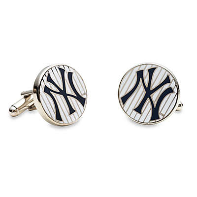 MLB New York Yankees Pinstripe Cufflinks