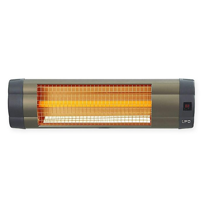 Alternate image 1 for UFO® Electric Infrared Heater in Bronze