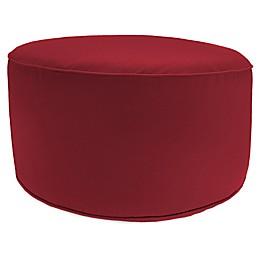 Round Pouf Ottoman in Sunbrella®
