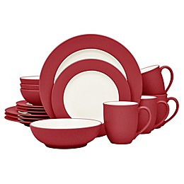 Noritake® Colorwave Rim 16-Piece Dinnerware Set