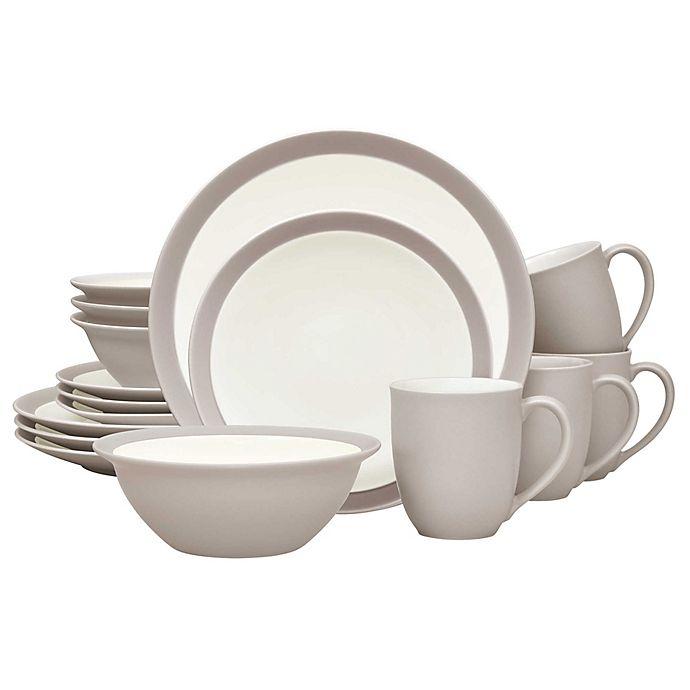 Alternate image 1 for Noritake® Colorwave Curve 16-Piece Dinnerware Set