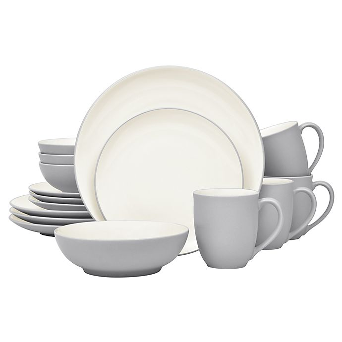 Alternate image 1 for Noritake® Colorwave Coupe 16-Piece Dinnerware Set