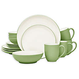 Noritake® Colorwave Coupe 16-Piece Dinnerware Set in Apple