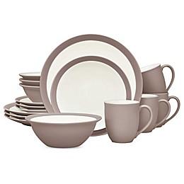 Noritake® Colorwave Curve 16-Piece Dinnerware Set in Clay