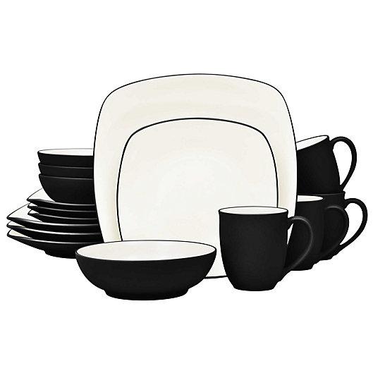 Alternate image 1 for Noritake® Colorwave Square 16-Piece Dinnerware Set