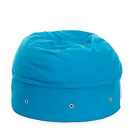 Mimish Covered Zipper Storage Pouf