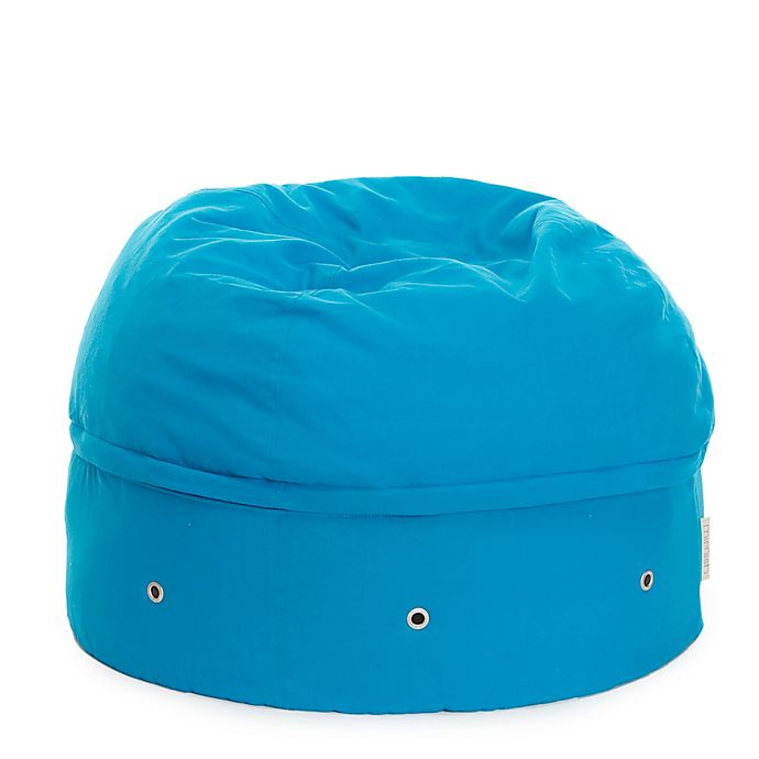 Alternate image 1 for Mimish Covered Zipper Storage Pouf