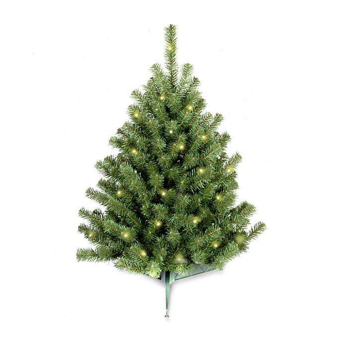 50 Foot Christmas Tree: National Tree 3-Foot Eastern Spruce Christmas Tree Pre-Lit