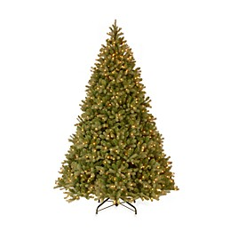 National Tree Company 10-Foot Downswept Douglas Fir Pre-Lit Christmas Tree with 1000 Clear Lights