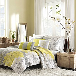 Madison Park Lola Quilted Coverlet Set