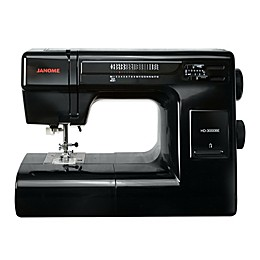 Janome HD3000BE Sewing Machine in Black