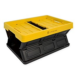 Lotus USA™ Foldable Hardside Storage Crate