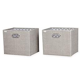 South Shore Storit 2-Pack Fabric Storage Bins