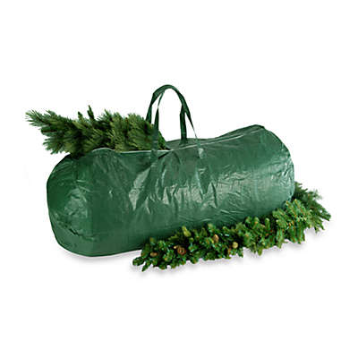 National Tree Company Heavy-Duty Tree Storage Bag with Handles and Zipper