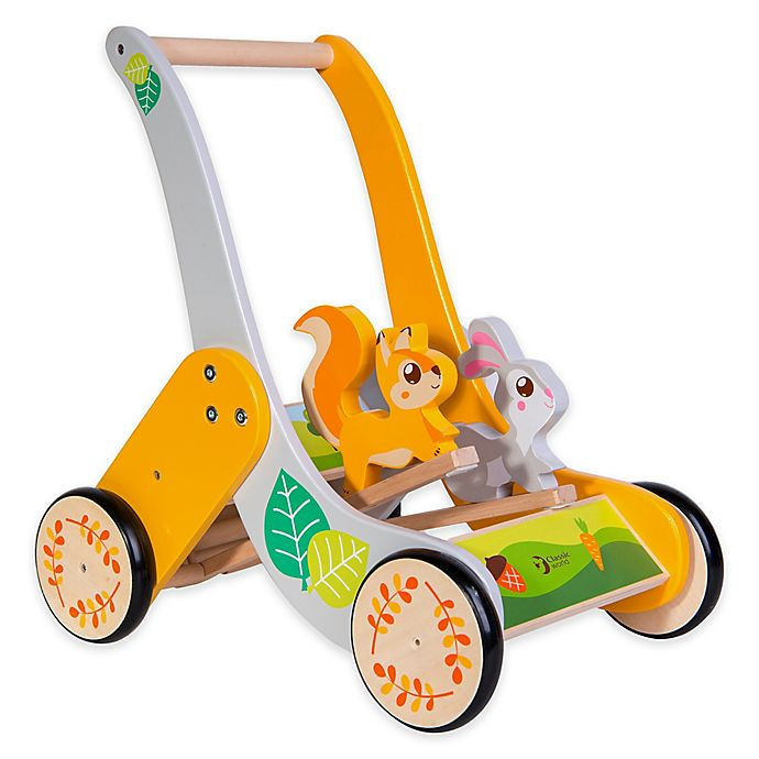 Alternate image 1 for Classic World Wooden Forest Push Toy