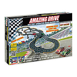 Golden Bright Amazing Drive Battery Operated Road Racing Set