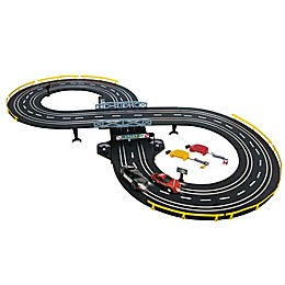 Golden Bright Police Chase Battery Operated Road Racing Set