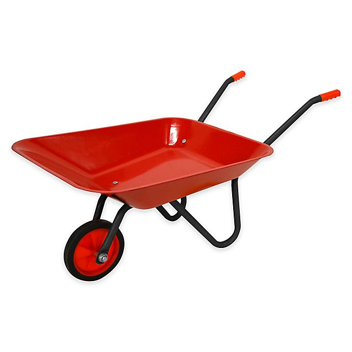 Alternate image 1 for Gener8 Children's Metal Wheelbarrow in Red