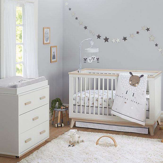 Counting Sheep Crib Bedding Collection
