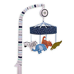 Just Born® One World™ Collection Dear World Musical Mobile in Blue