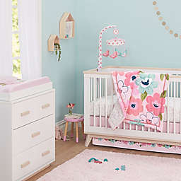 Just Born® One World™ Collection Blossom Crib Bedding Collection