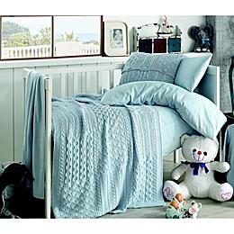 Nipperland® Patchwork Natural 6-Piece Crib Bedding Set