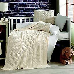 Nipperland® Patchwork Natural 6-Piece Crib Bedding Set in Cream