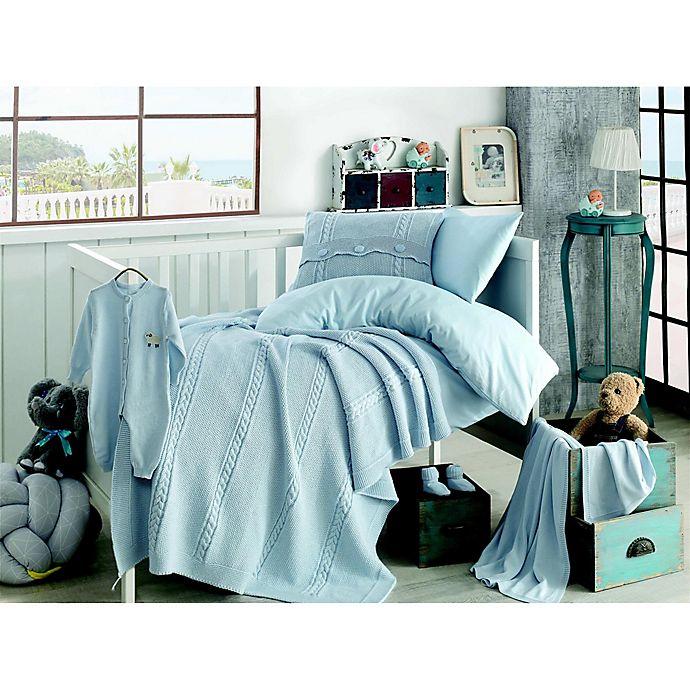Alternate image 1 for Nipperland® Heritage Natural 6-Piece Crib Bedding Set