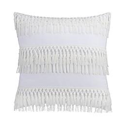Coastal Life Luxe Freemont European Pillow Sham in White