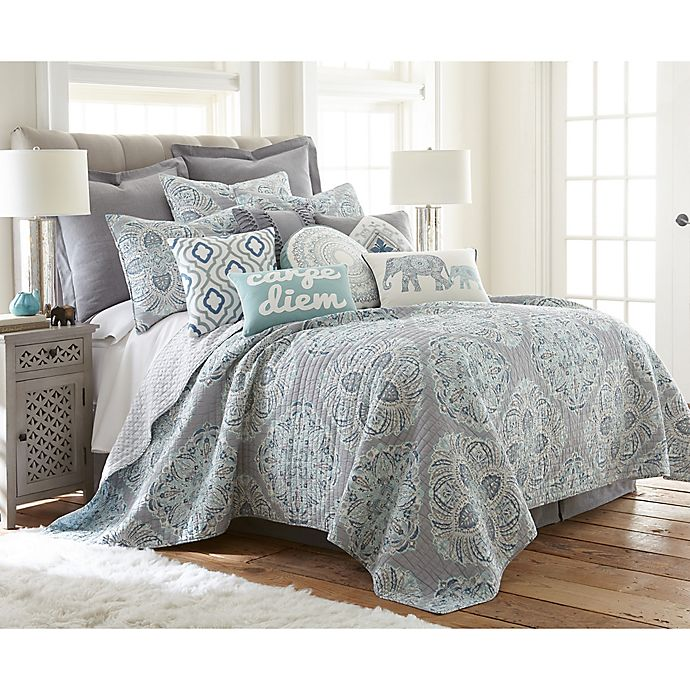 Alternate image 1 for Levtex Home Tania Reversible Quilt Set