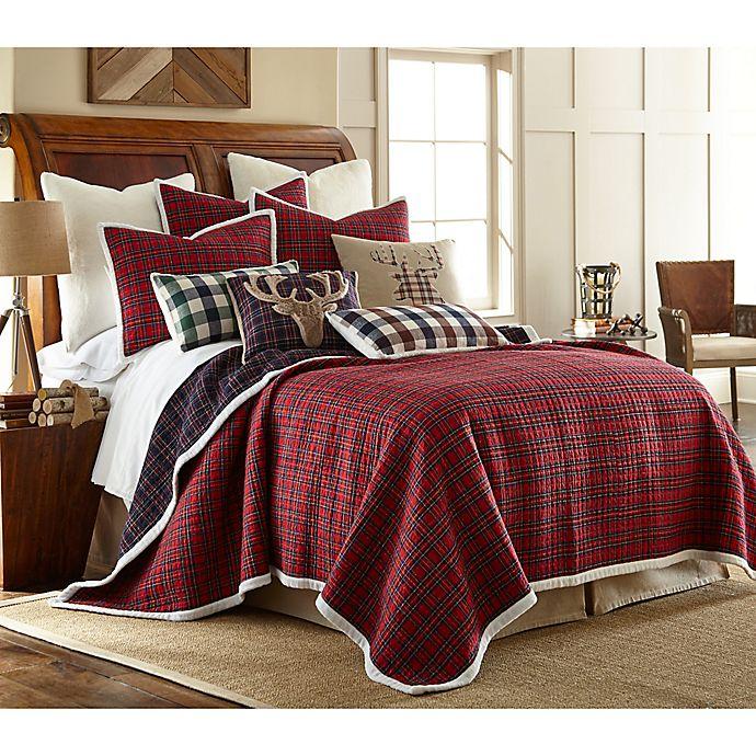 Levtex Home Plaid 3 Piece Reversible Quilt Set Bed Bath Beyond