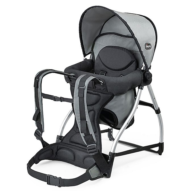 Alternate image 1 for Chicco® SmartSupport Backpack Baby Carrier in Grey