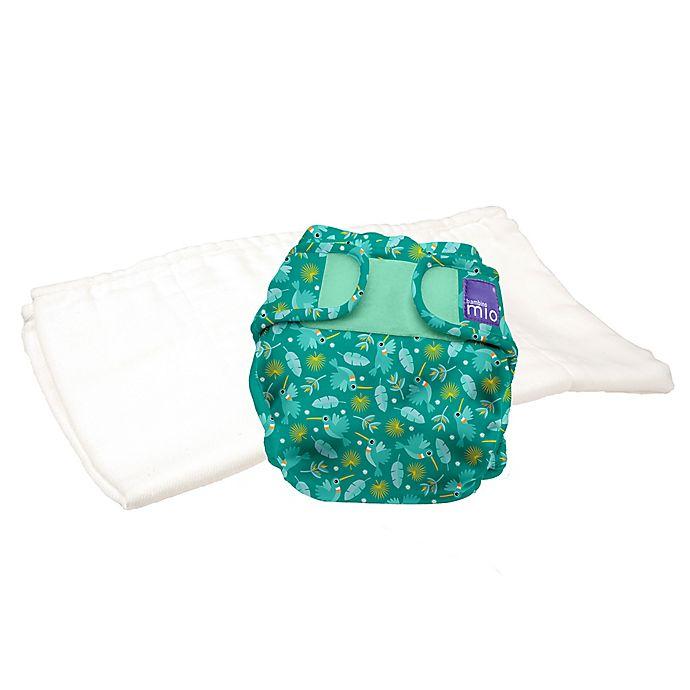 Alternate image 1 for Bambino Mio Size 12-24M 2-Piece Hummingbird Reusable Diapers