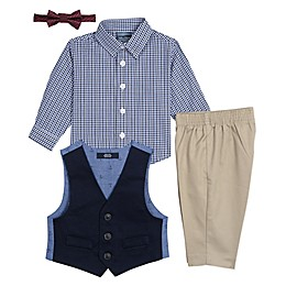 Nautica® 4-Piece Twill Vest Set