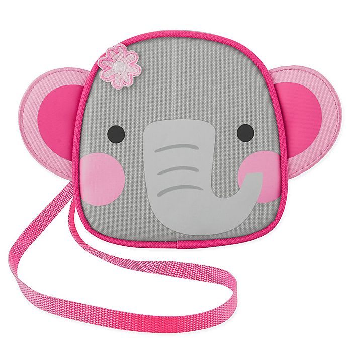 Alternate image 1 for Stephen Joseph Elephant Crossbody Purse