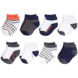 Yoga Sprout 6-Pack No-Show Ankle Socks in Orange