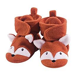 Hudson Baby® Fox Booties in Orange
