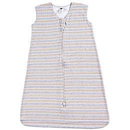 Hudson Baby® Aztec Stripe Jersey Cotton Wearable Sleeping Bag in Orange