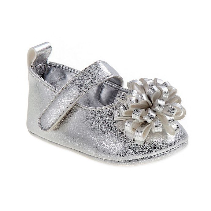 Alternate image 1 for Laura Ashley® Mary Jane Shoes in Silver